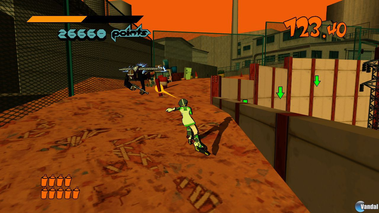 Nuevas imgenes de la revisin de Jet Set Radio