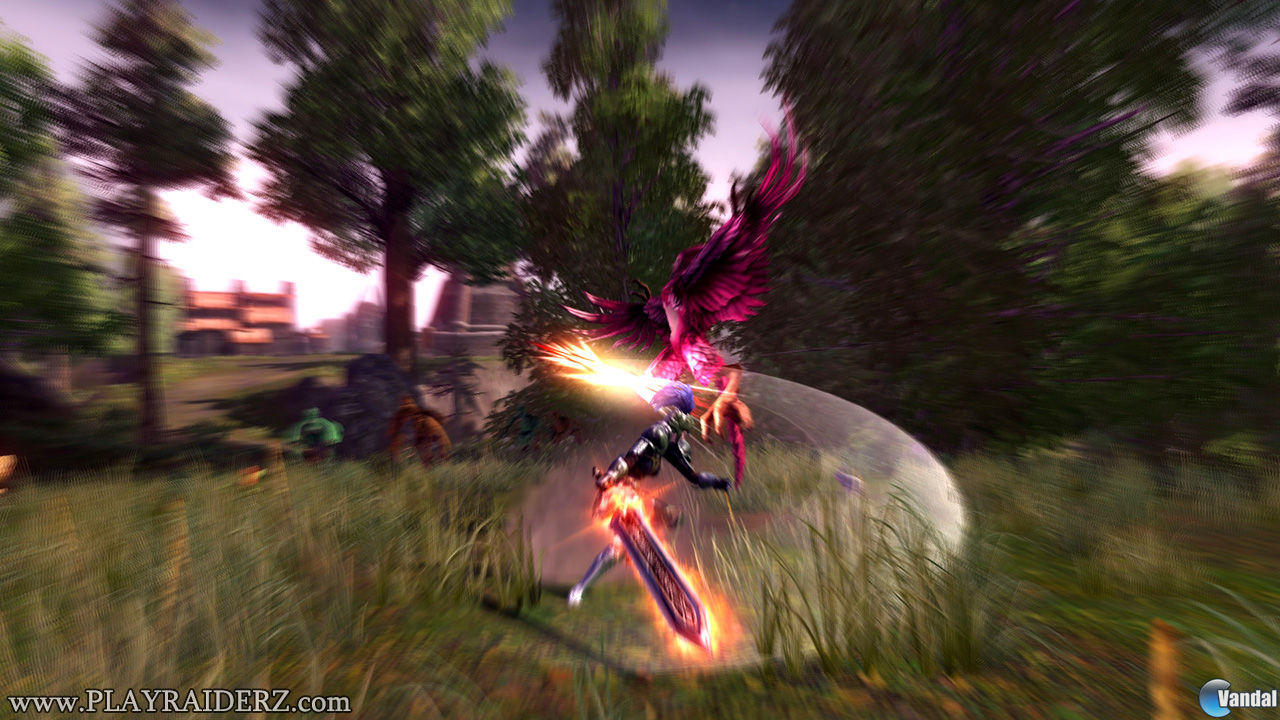 Nuevas imgenes de RaiderZ