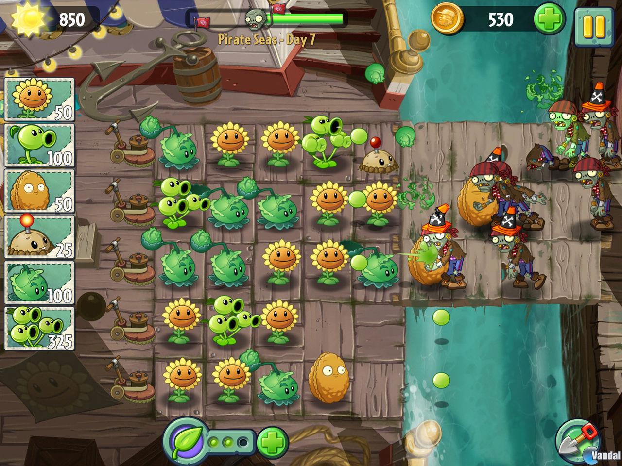 Plants vs Zombies 2 revela nuevas imágenes