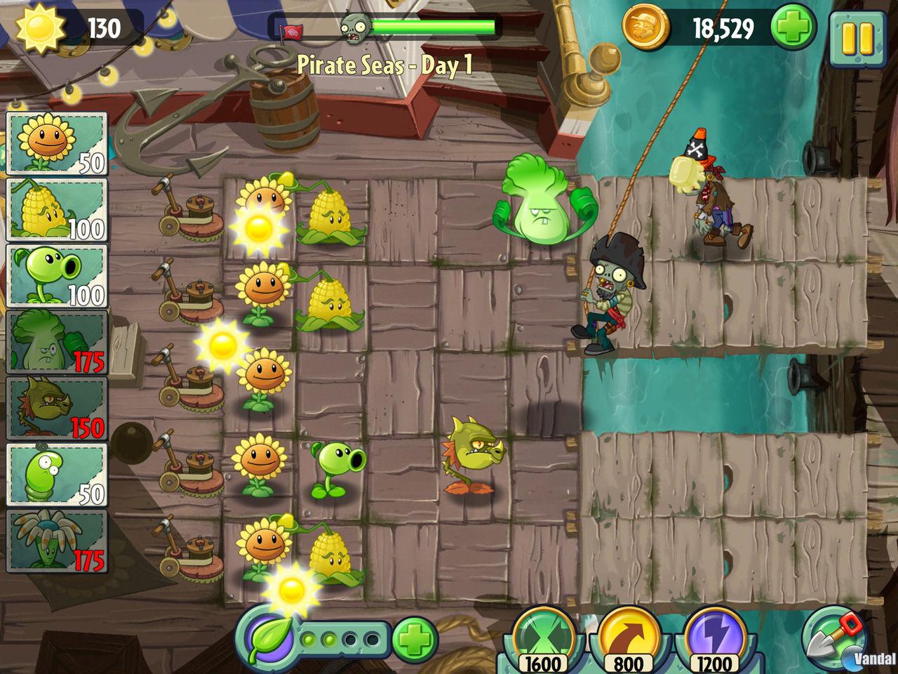 Fuentes de información plants vs zombies 2 revela nuevas imágenes
