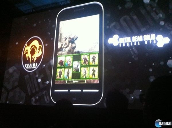 Konami anuncia Metal Gear Solid: Social Ops