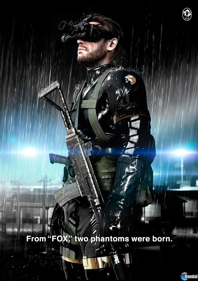 Hideo Kojima anuncia Metal Gear Solid Ground Zeroes con Fox Engine