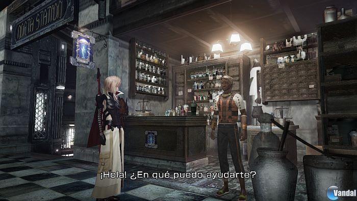 [N] Nuevas imágenes de Lightning Returns: FF XIII.