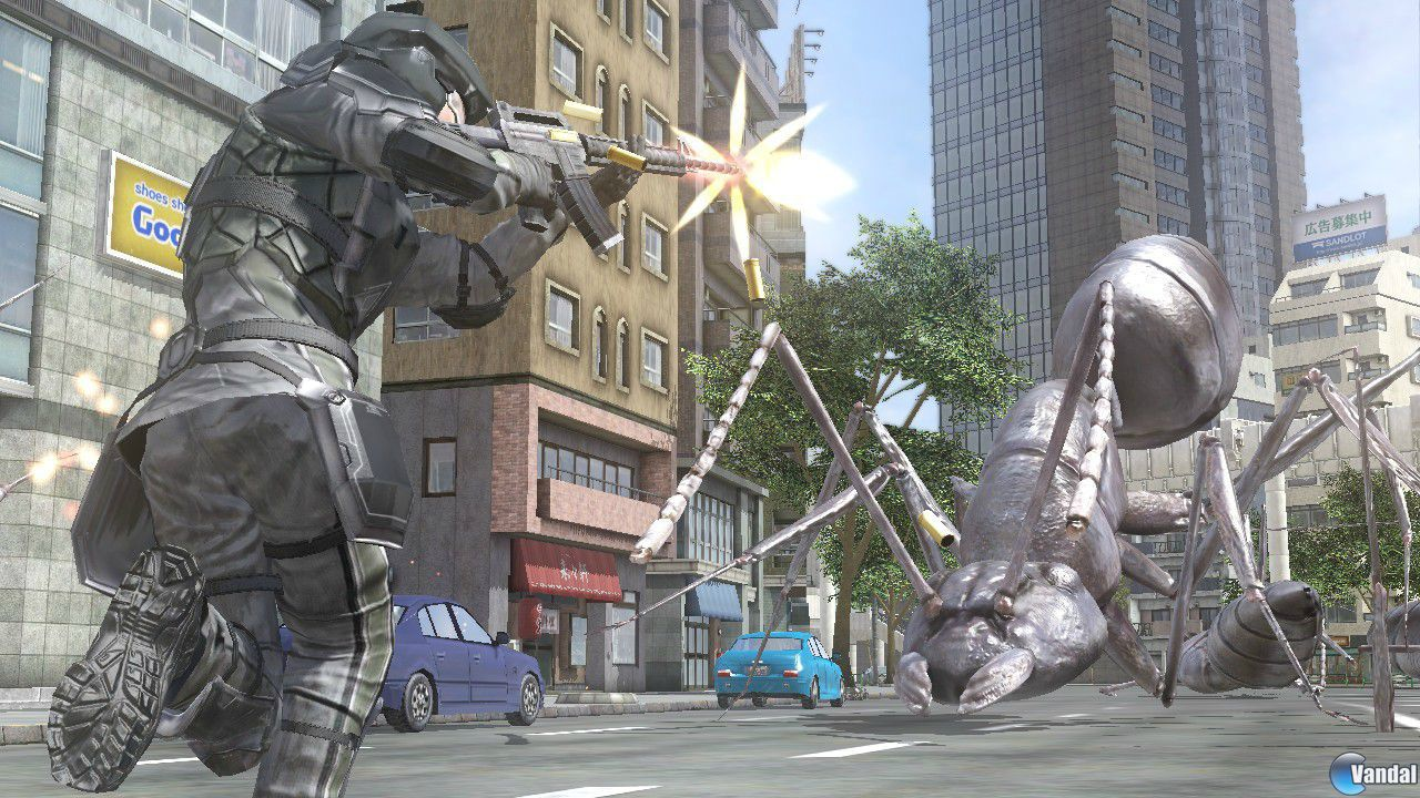 Earth Defense Force 4 se deja ver en nuevas imgenes