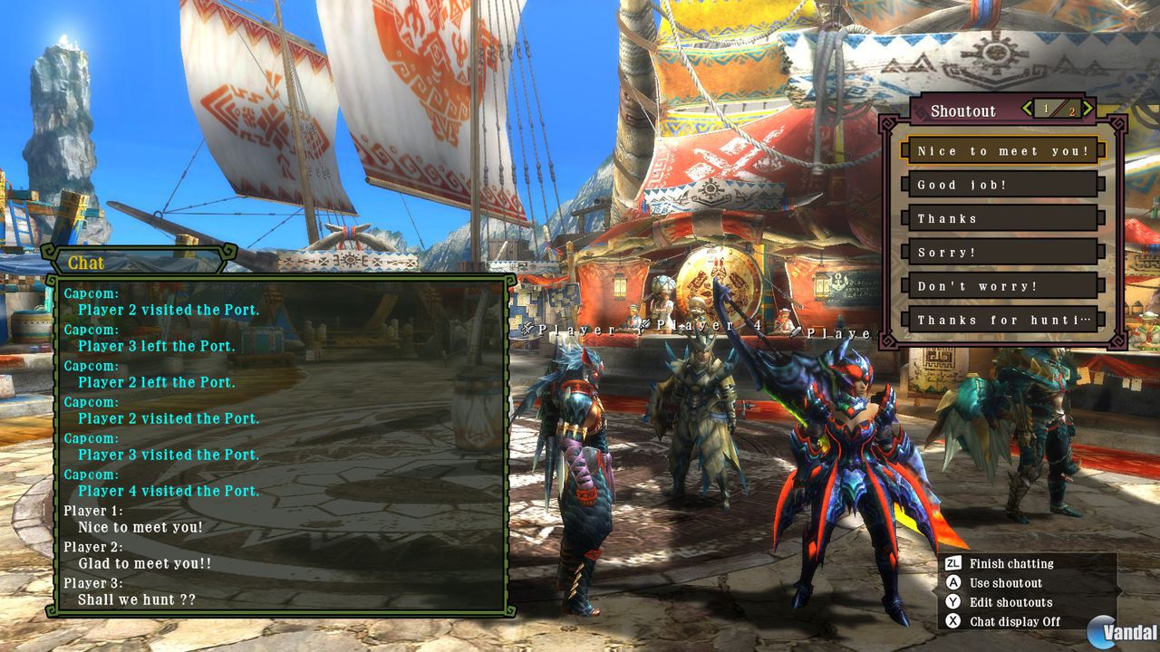 Nuevas imgenes de Monster Hunter 3 Ultimate