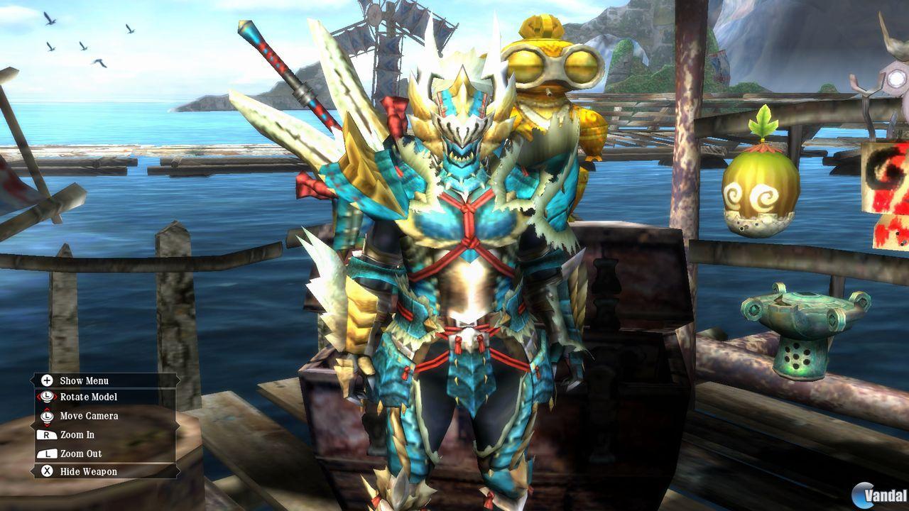 Nuevas im�genes de Monster Hunter 3 Ultimate
