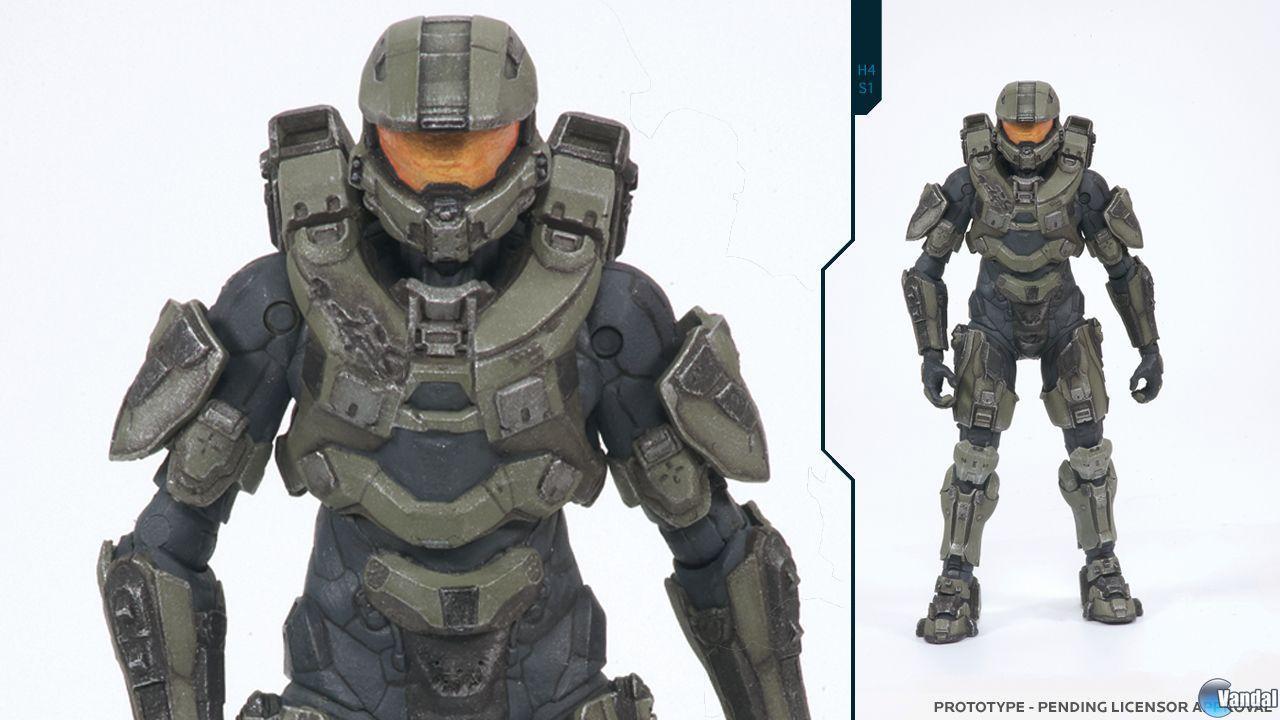 Una nueva figura del Jefe Maestro nos muestra el diseño de su armadura en Halo 4