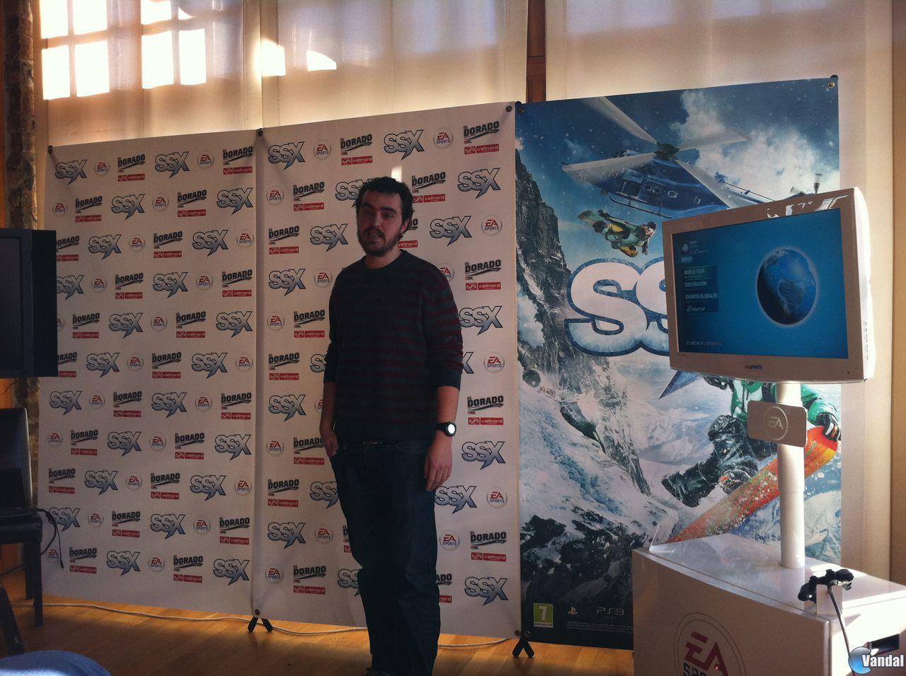Asistimos a la presentación de SSX en Andorra