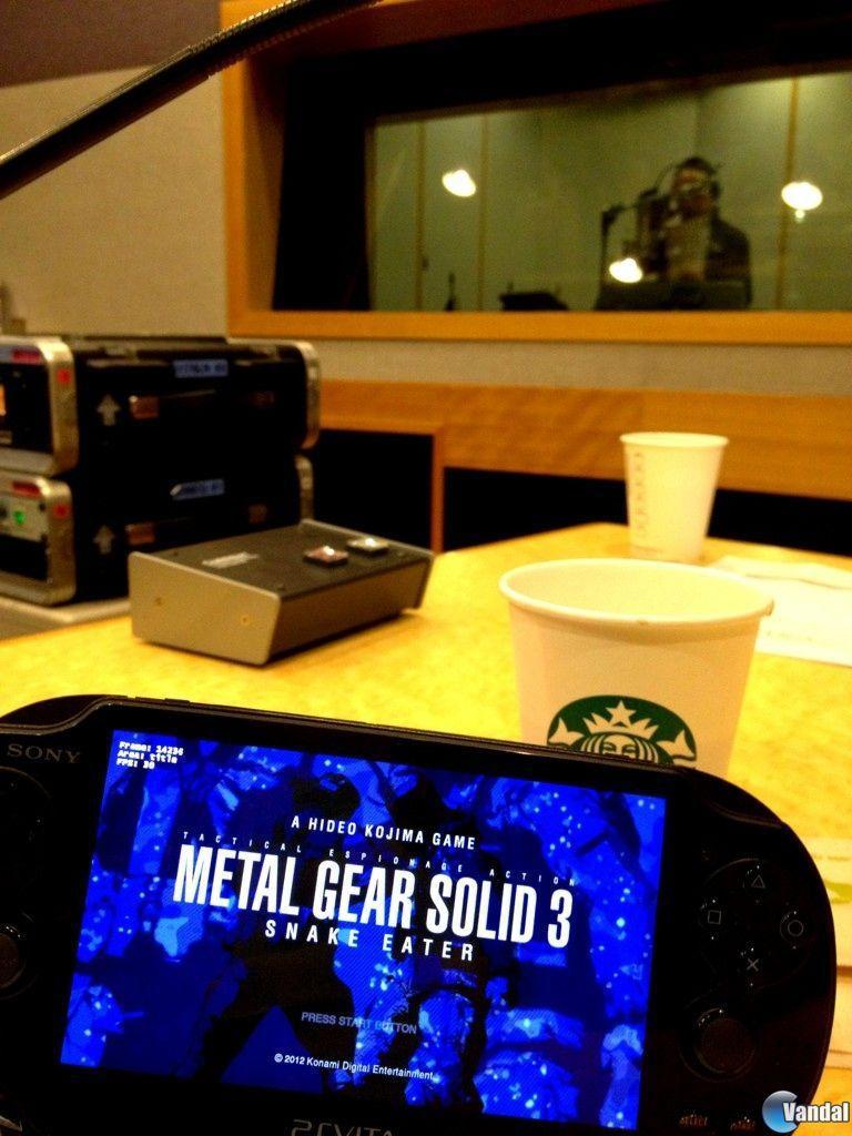 Metal Gear Solid HD Collection utilizará funciones específicas de PS Vita