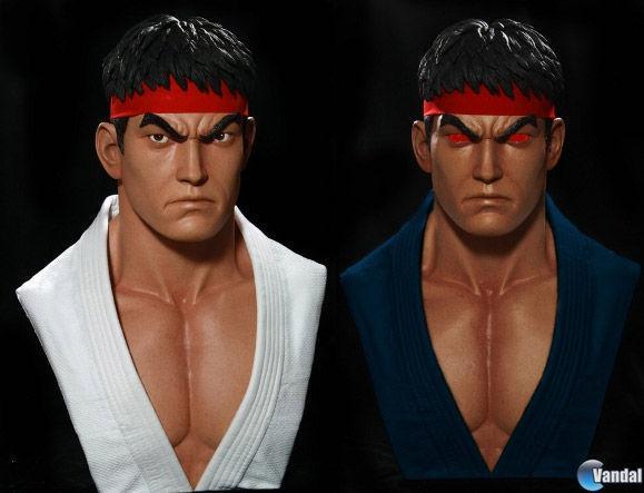 Comercializan un busto a tama�o real de Ryu