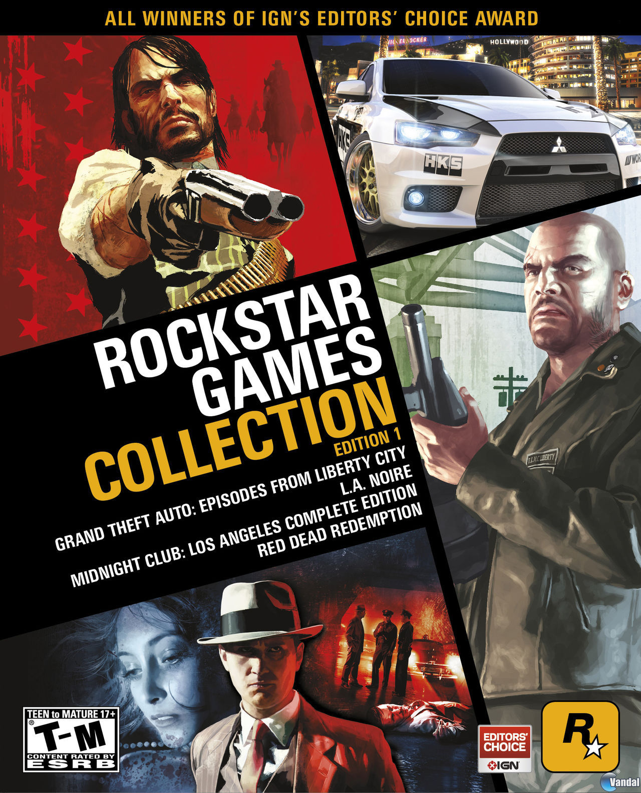 Anunciada la Rockstar Games Collection: Edition 1