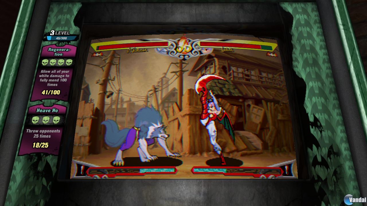 Primeras imgenes de Darkstalkers Resurrection
