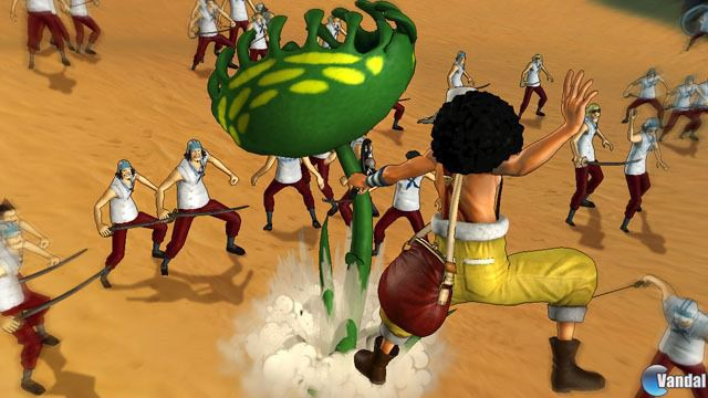 One Piece: Pirate Warriors 2 se muestra en nuevas capturas