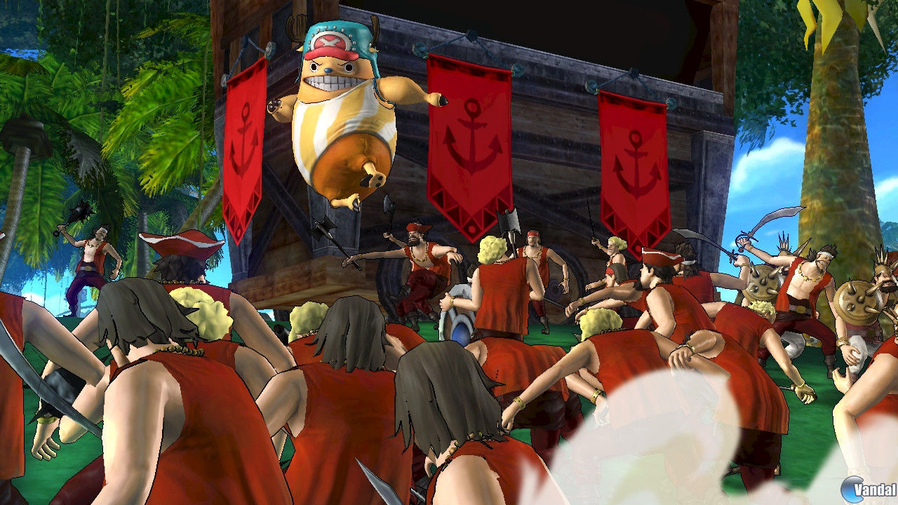 Nuevas imgenes de One Piece: Pirate Warriors 2