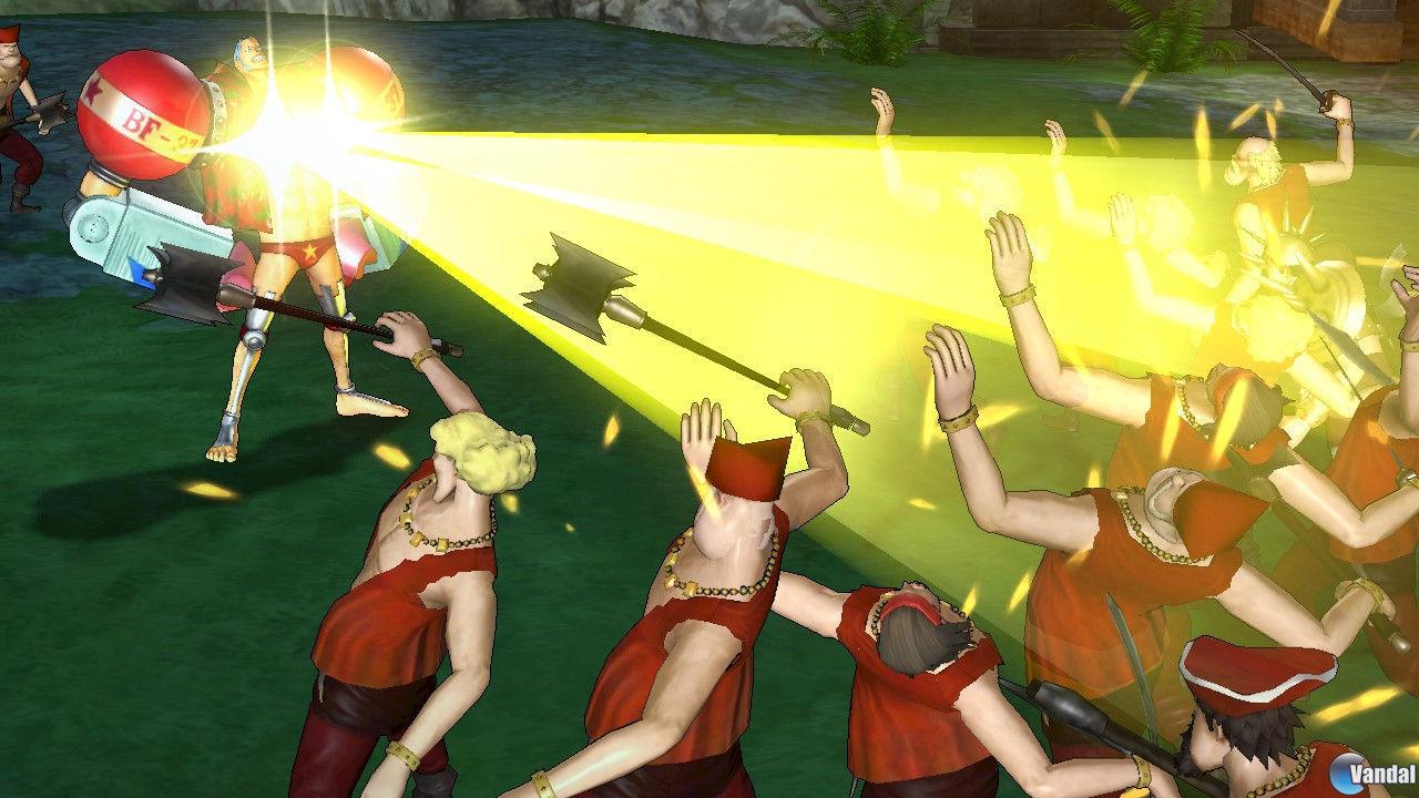 Nuevas im�genes de One Piece: Pirate Warriors 2