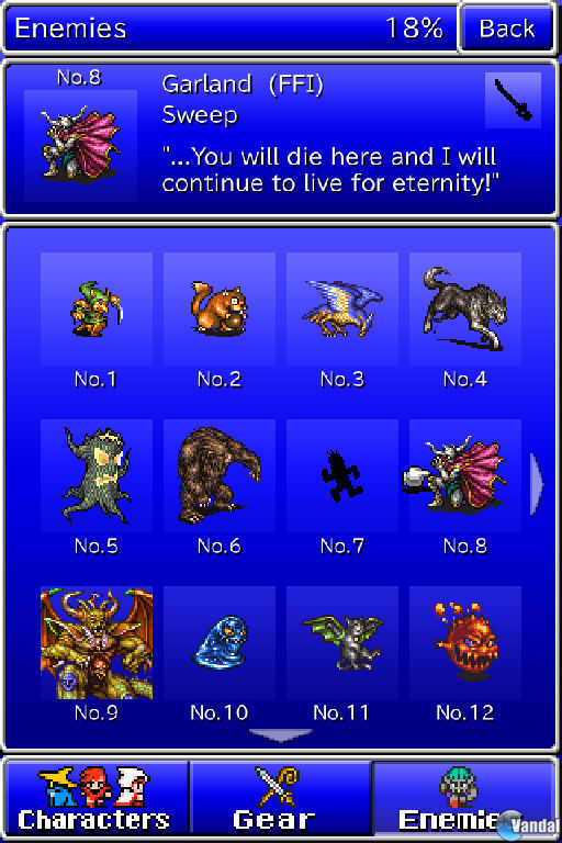 Final Fantasy: All The Bravest ya est� disponible en la App Store