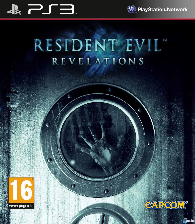 Se muestra la car�tula de Resident Evil Revelations en alta definici�n