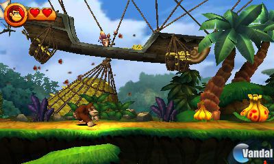 Donkey Kong Country Returns llegar� a Nintendo 3DS