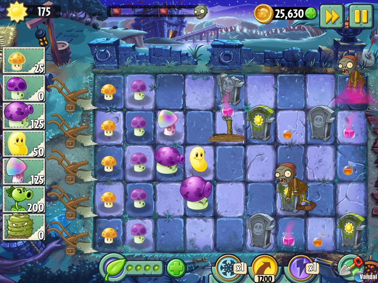 Plants vs zombies 2 visitará la edad media