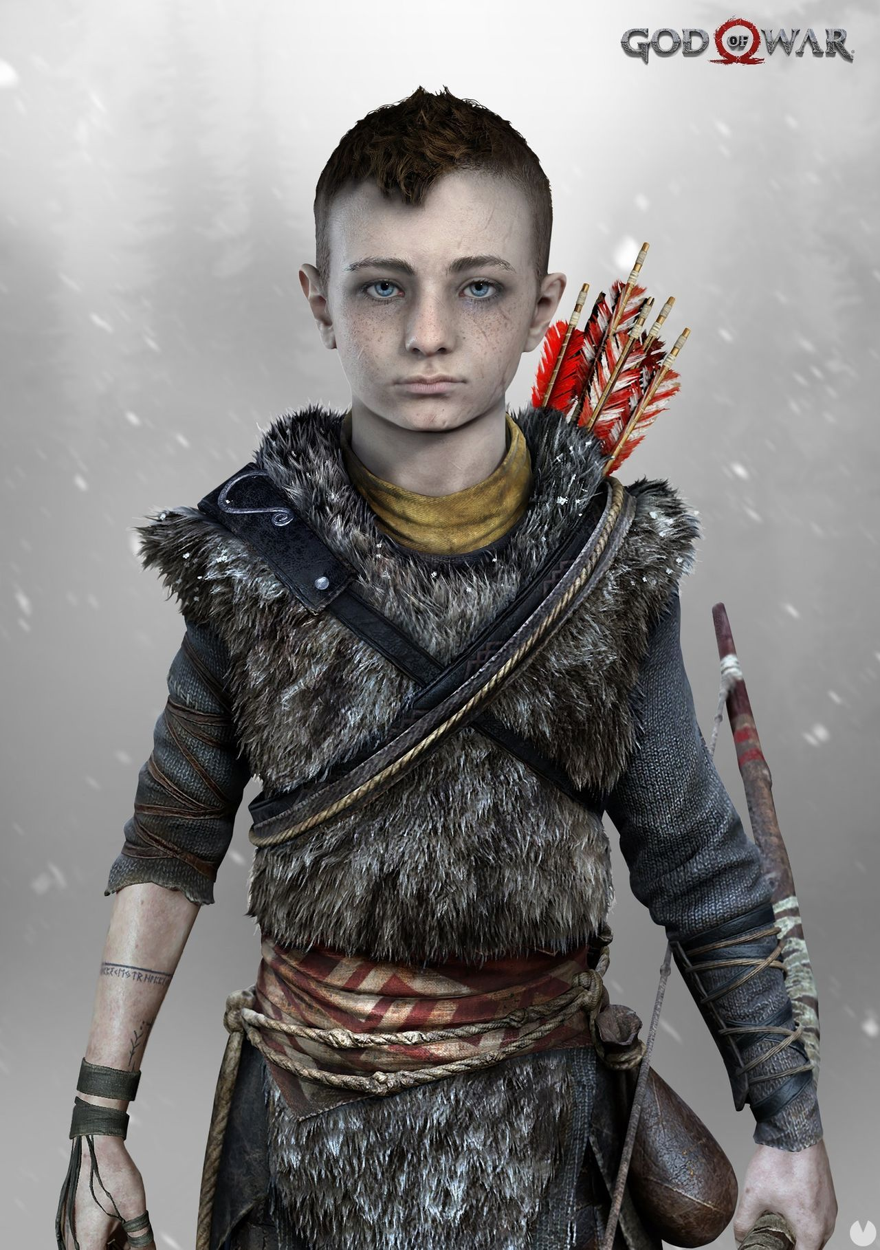 God of War nos presenta en dos nuevos artes a Kratos y a su hijo