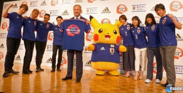 Pikachu será la mascota de la Selección Japonesa en la Copa del Mundo de Brasil 2014