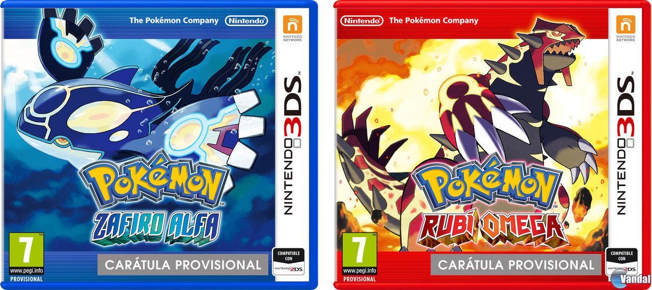 Anunciado el remake de Pokémon Rubí y Zafiro para este año