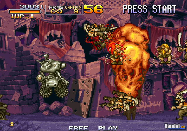 Nuevas im�genes de Metal Slug Anthology