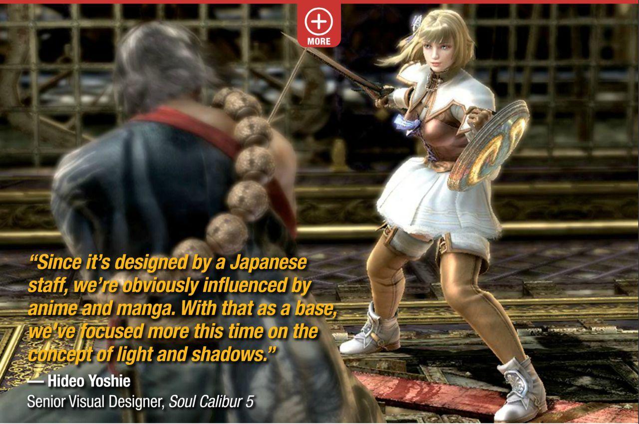 Primera imagen de Soul Calibur V