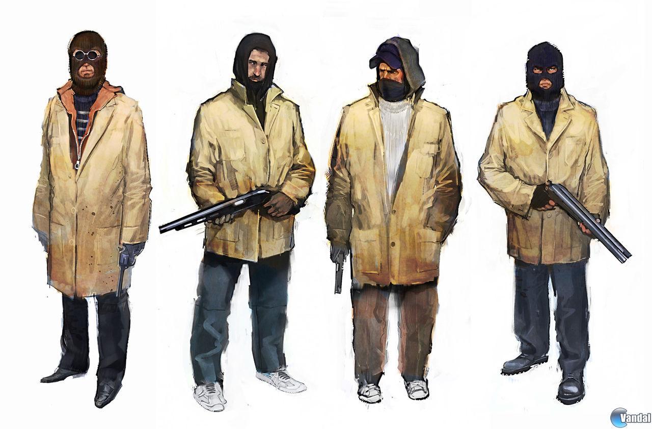 Aparecen ilustraciones del cancelado Heist