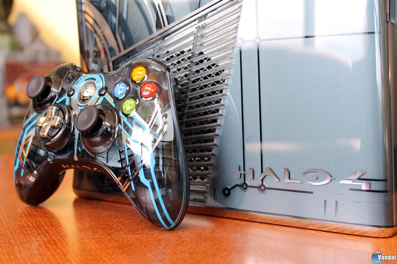 La Xbox 360 edición Halo 4