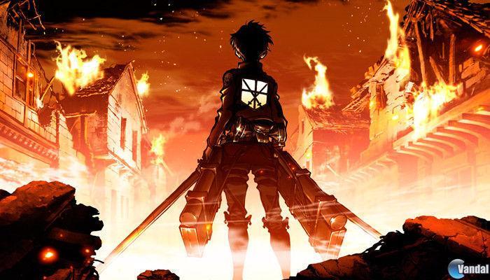 juego basado en el manga y el anime de Attack on Titan
