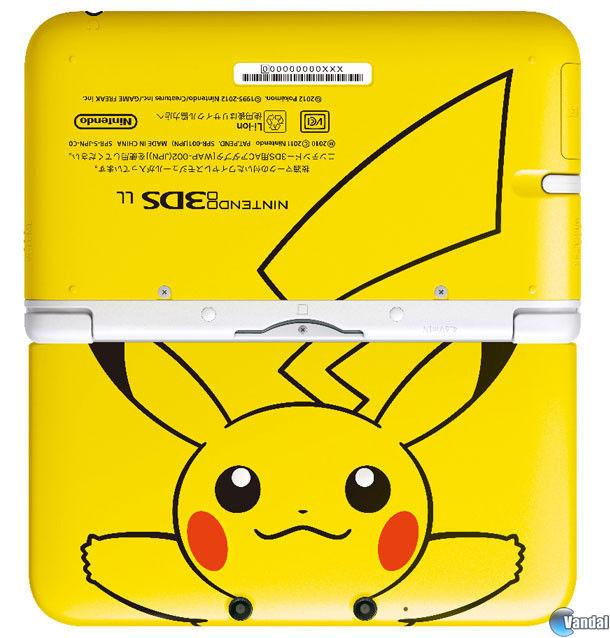 Una Nintendo 3DS XL de Pikachu llega en septiembre a Japn