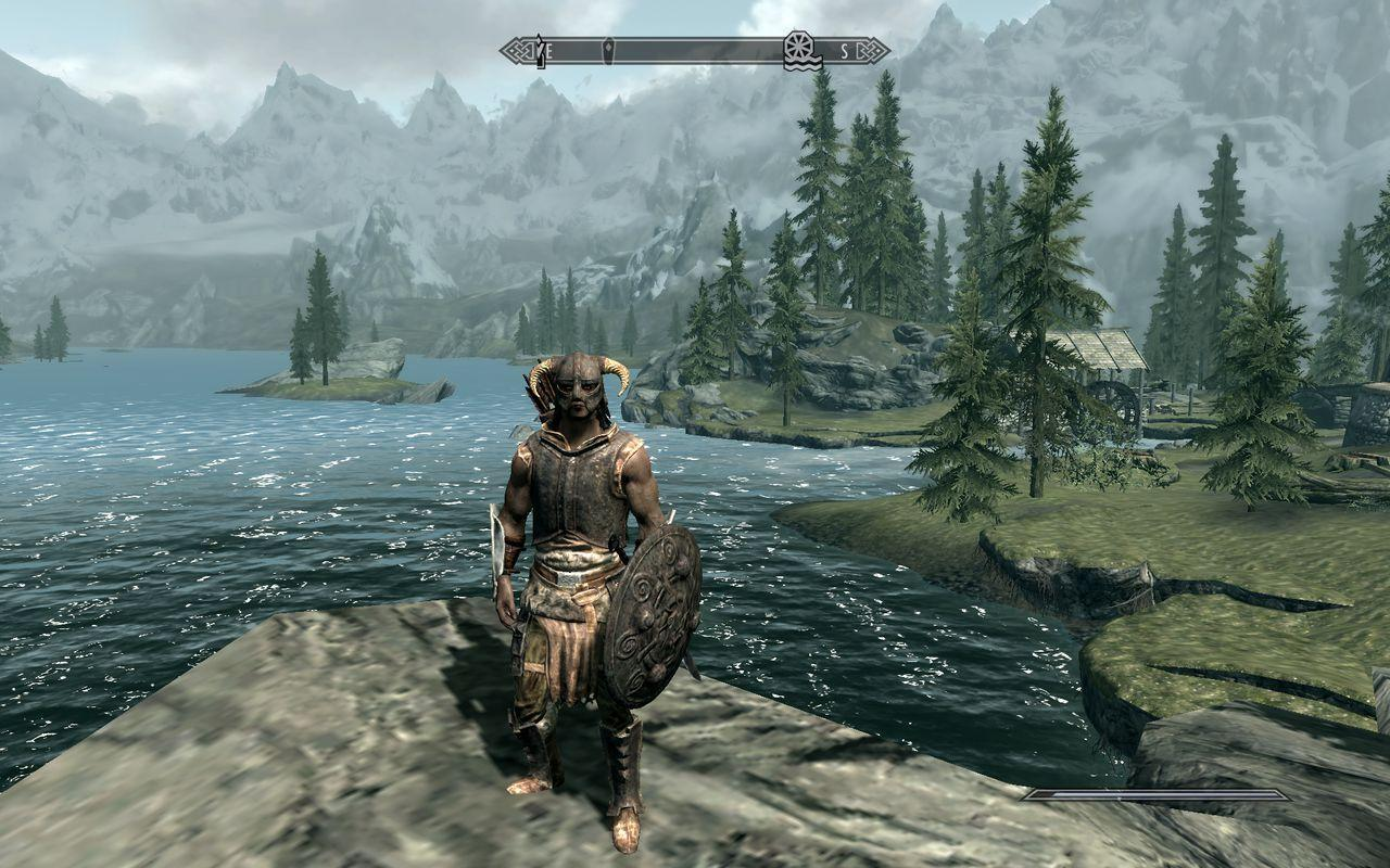 NVidia compara Skyrim en PC al mnimo y mximo detalle grfico