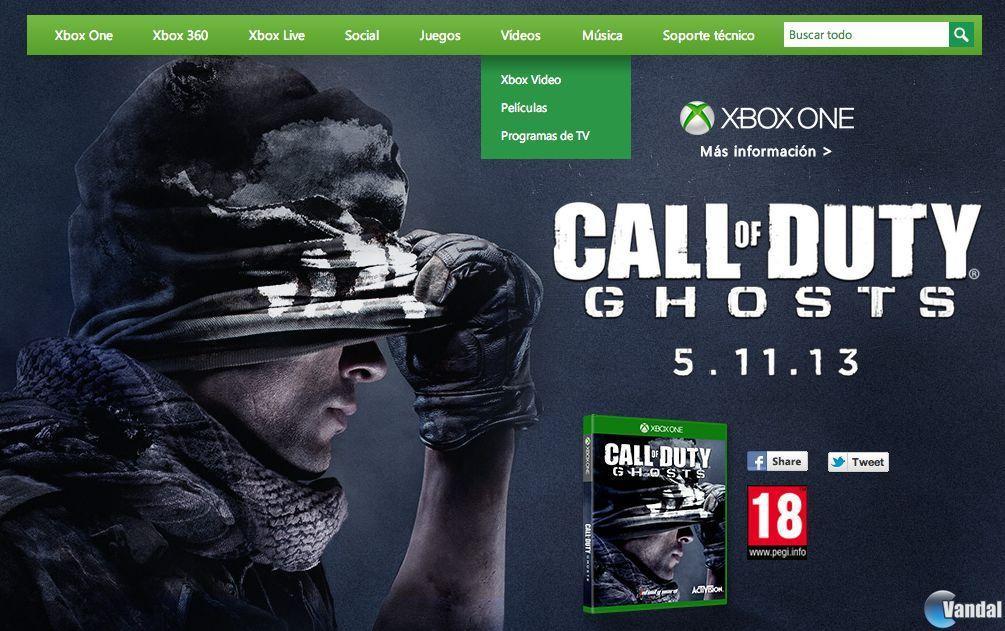 Xbox One podría debutar el 5 de noviembre