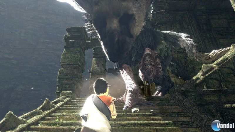 The Last Guardian mas cerca de PS4