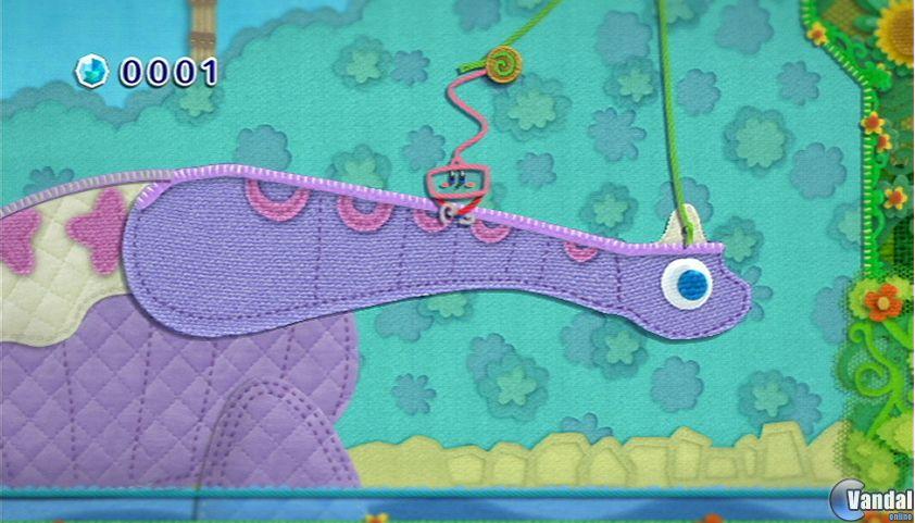 E3: Primeras im�genes de Kirby's Epic Yarn