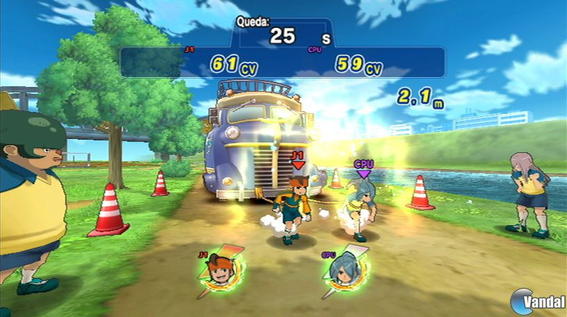 Primeras imgenes en castellano de Inazuma Eleven Strikers