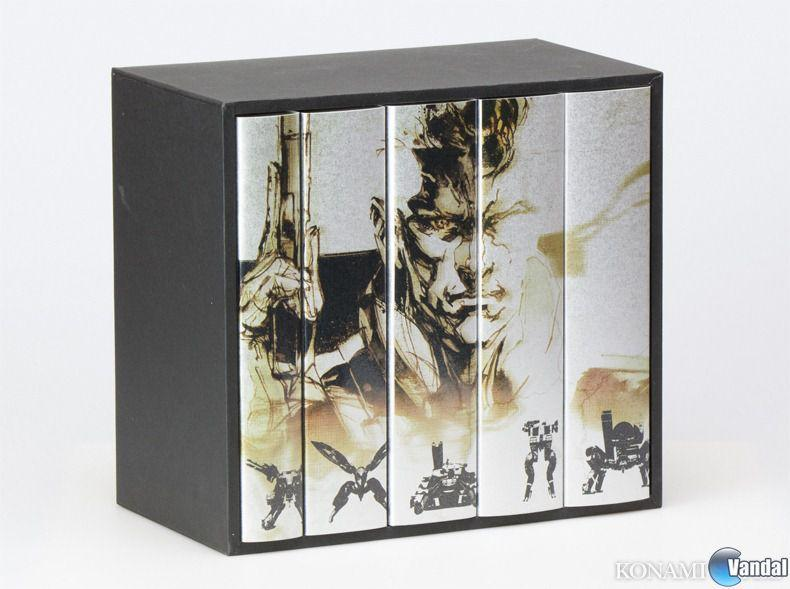 Konami pone a la venta el pack de libros Metal Gear 25th Anniversary 