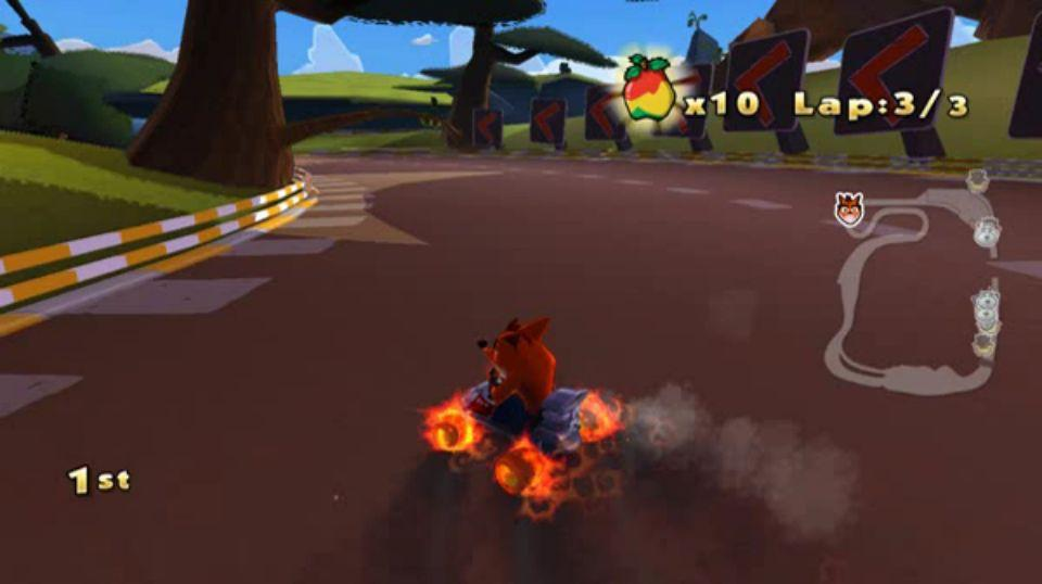 Se filtran imgenes del cancelado Crash Team Racing 2010
