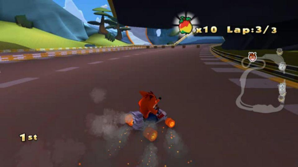 Se filtran im�genes del cancelado Crash Team Racing 2010
