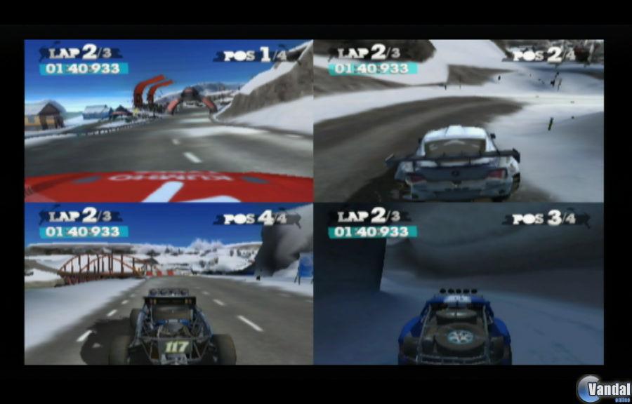 Primeras im�genes y v�deo de DiRT 2 para Wii