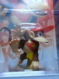 successfully auctioned Amiibo of Diddy Kong without lower jaw