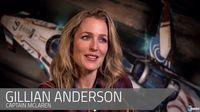 Actress Gillian Anderson talks about his role in the video game Star Citizen in a new video