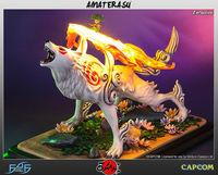 Announced a new figure of Amaterasu, the protagonist of Okami