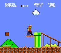 Usan Super Mario Bros. for a viral video about architectural barriers