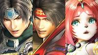 Musou Stars presents Zhao Yun, Yukimura Sanada and Tamaki in action