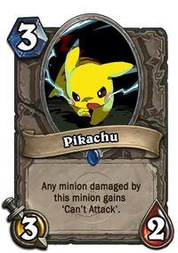 Imagine the 151 Pokemon original cards of Hearthstone