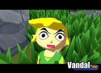 Pantalla The Legend of Zelda: The Wind Waker