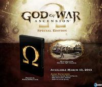 Se confirman para Europa las ediciones especiales de God of War: Ascension
