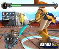 Pantalla Skies of Arcadia Legends